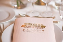 Menu Cards / Curated by Canopy Rose Catering, a Tallahassee, Florida catering and special event company.