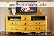 Repurposing old furniture / Recycling old items