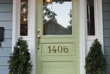 Porch House Numbers