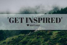 Get Inspired | MASSANA / INSPIRACIÓN. Ideas, dibujos, arte, fotografias, colores, creaciones y lugares que nos inspiran.