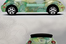 Ideas for new vehicle wrap / by Greenery Office Interiors Ltd