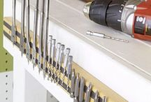 Tools & Workbench / Great ways to store your tools and beautiful and smart workbench design.
