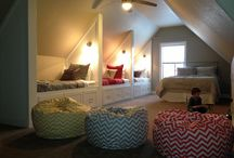 Finish out Attic