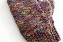 knit and crochet- mittens, armwarmers, and legwarmers/ boot cuffs