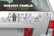 Adesivos Família