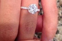 Engagement rings and attractive jewellery