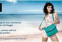 Instagram your Summerfun photo with Baggit. / The summers are here!!! This is an amazing opportunity for you'll to show off your Fashion Stylist Skills by Mixing & Matching to create a Trendy & Cool Summer Look.   Participate in our Instagram Contest by simply creating an ideal summer look with a Baggit bag you would carry off to beat the heat & post it on Instagram by Tagging @baggitworld & #BaggitSummerLook. The 3 best pictures will be lucky to win awesome Baggit goodies. T&C apply  Contest Ends on: 18th May 2014 at 11.00 p.m.