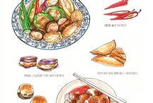 Food sketching