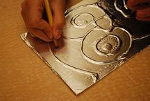 tallado en aluminio