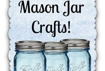 Norges glass and Mason Jar