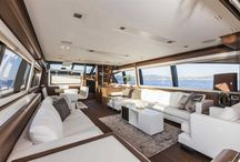 Ferretti Yachts 800 Interior Design / Discover the #Interior #Design #MadeInItaly on board of the Ferretti #Yachts 800