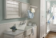 for the home laundry room ideas / by Minna Woodgate