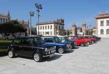 Visita del Club Mini Granada / El pasado domingo, 15 de septiembre, nos visitó el Club Mini Granada con sus fabuloso vehículos de extravagante diseño. Una forma exclusiva de descubrir el Museo.