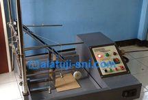 Produk Alat Uji Lokal / Menjual, membuat & merancang alat uji sesuai dengan standar SNI, IEC, ISO, EN, ASTM, dll.