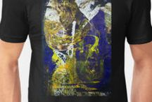 Abstract T-Shirt / Abstract T-Shirt by Dmitri Matkovsky original painting