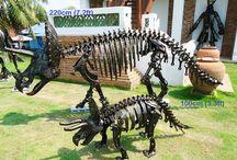 Scrap metal art thailand