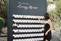 Plan de table / Trouver le plan de table idéal pour son mariage, c'est par ici !