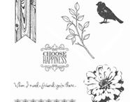 Handmade Cards- SU- Choose Happiness / Stamp set Choose Happiness