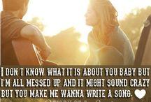Lyrics I love / by Chanel Mashburn