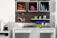 Desk in small space