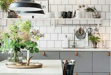 Rustik, industriellt, grått // Kitchen