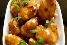 ázsiai ételek