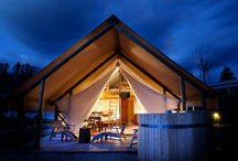 Glamping / Glamorous Camping - yes please!