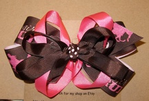 hair bows I want to make for my girls :b
