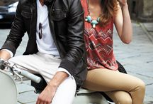 Vespa Fashion / Fashion and style for both men and women for riding Vespa scooters #VespaStyle http://VespaClubNYC.com