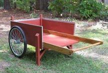 Small carts & food trucks. / Garden cards, goods & hiking carts, small business carts & trucks.