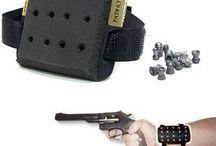 Airgun practice / Légfegyverekhez mindenféle tartozékok, kiegészítők