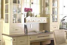 Kitchen desk area design