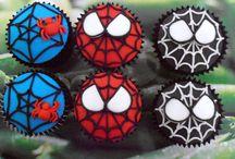 CUPCAKES FONDANT / cupcakes decorados con fondant