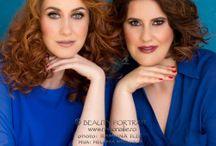 Alexandra & Cristina - beauty portrait / Alexandra & Cristina - sister's beauty portrait
