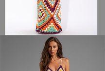 Платья (вязание)