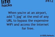Airport tricks and tips
