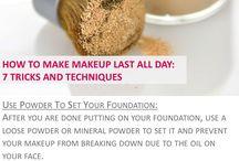 Makeup - face