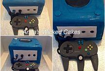 Game Cube cake