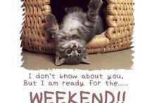 Weekend/Helg