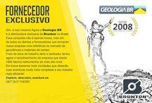 Marcas representadas / Marcas mundiais representadas pela Geologia BR no Brasil.