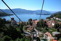 Laveno-Mombello / Laveno Mombello stadje aan de Lago Maggiore