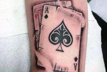 tattoo arm ace king