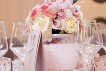 Wedding Table Arrangements / Wedding Table Arrangements in Glen Rose Ballroom