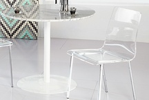 Dining by Euro Style / We make modern design easily available to all. The elements are simple, colors and shapes that come together to form beautiful room groupings.