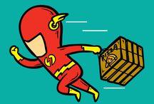 o segundo emprego dos super-heróis ⏰