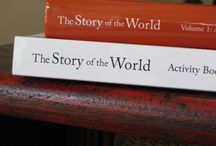 Homeschool-Story of the World / Learning the store of how our world came to be.