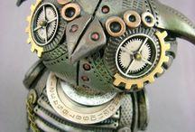 Art & Design - STEAMPUNK / by SMK Things I love Food, Bracelets, GoT, Tattoo, Vintage,