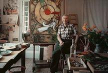 Estudios - artists' studios  //  Talleres donde crear / estudios de artistas y mas // artists' studios / by Susana Munay