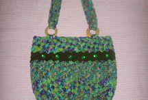 BOLSOS TEJIDOS A MANO / Tejidos en Crochet