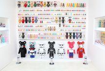Bear Bricks / Since then I become bearbricks lover   I feel like wanna collect them all